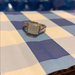 Kay jewelers moonstone ring